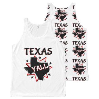 Débardeur Tout-imprimé Fierté d'état du Texas vous