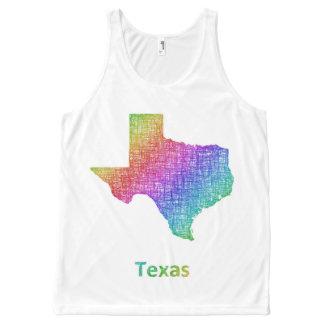 Débardeur Tout-imprimé Le Texas