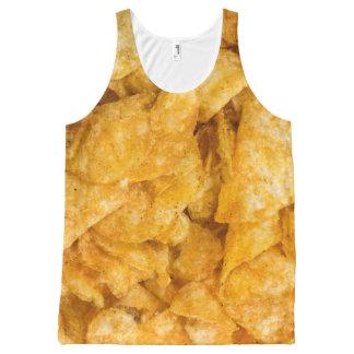 Débardeur Tout-imprimé Pommes chips de mesquite