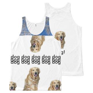Débardeur Tout-imprimé salut chien