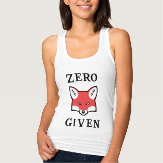 Débardeur Zéro (Fox) donné