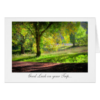 Début de l'automne/de automne - bonne chance en carte de vœux