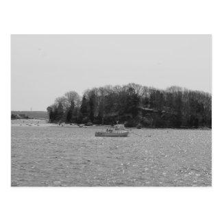 Début de l'île du guichet, carte postale du