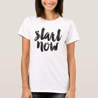 Début maintenant t-shirt
