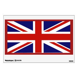 Décalque britannique de mur de drapeau