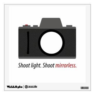 Décalque de mur d'appareil-photo de Mirrorless