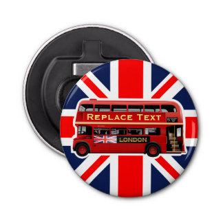 Décapsuleur Autobus rouge de Londres orienté
