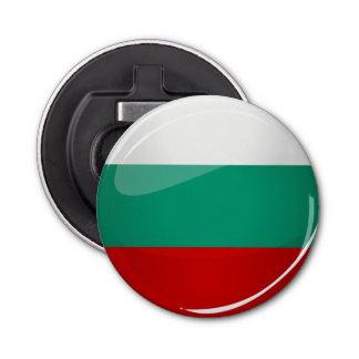 Décapsuleur Drapeau bulgare rond brillant