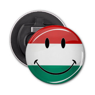 Décapsuleur Drapeau hongrois de sourire