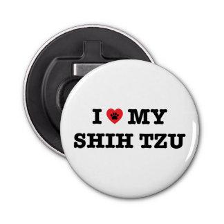 Décapsuleur I coeur mon Shih Tzu