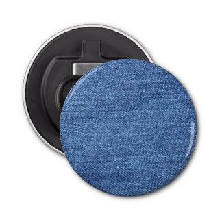 Décapsuleur Image blanche bleue de regard de texture de denim