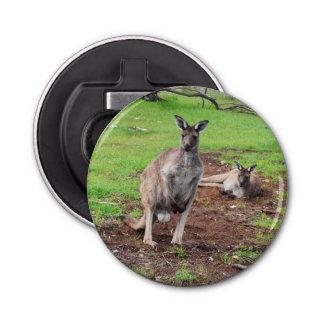 Décapsuleur Kangourou australien de mâle, ouvreur de bouteille