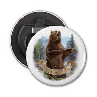 Décapsuleur Ouvreur de bouteille d'ours gris