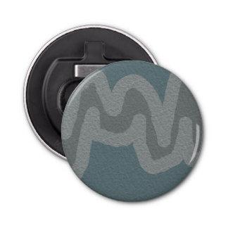 Décapsuleur Ouvreur rond de rayure grise moderne de texture