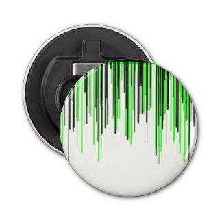 Décapsuleur Ouvreur rond de série verte noire