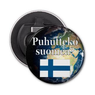 Décapsuleur Parlez-vous finlandais ? dans finlandais. Drapeau