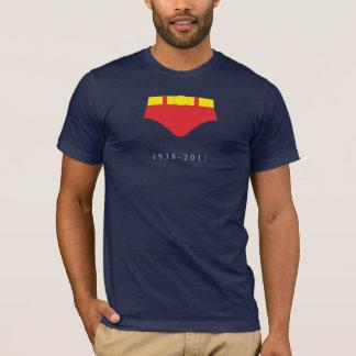DÉCHIREZ les shorts rouges (sur le bleu marine) T-shirt
