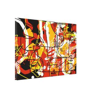 décor d'abstraction de beaux-arts toiles