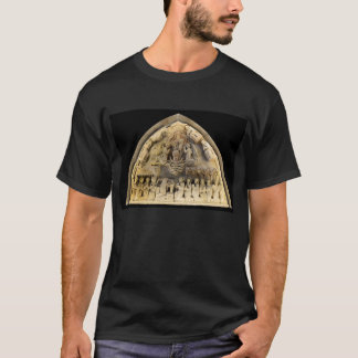 décoration en pierre intérieure d'église de t-shirt