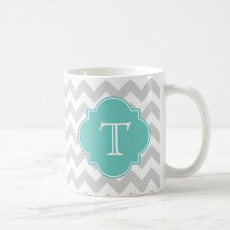 Décoré d'un monogramme mug