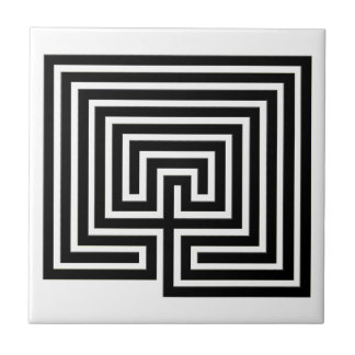 Décorez votre maison avec un labyrinthe - carreau