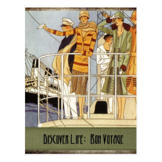 Découvrez la vie :  Voyage de fève Carte Postale