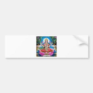 Déesse de Lakshmi de l'amour, de la prospérité, et Autocollant De Voiture