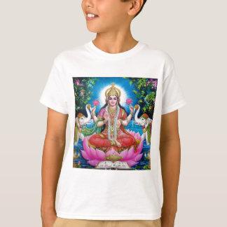 Déesse de Lakshmi de l'amour, de la prospérité, et T-shirt