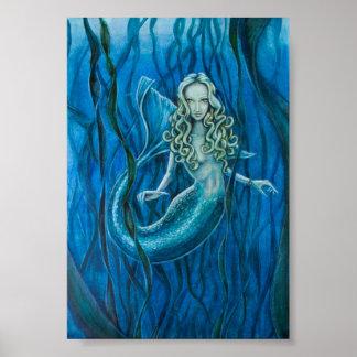 Déesse de sirène de la mer