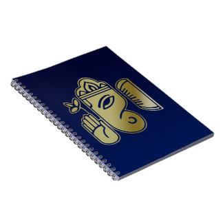 Déesse Ganesha - carnet d'or