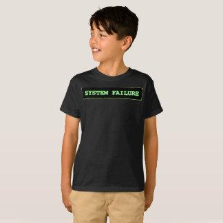 Défaillance du système t-shirt