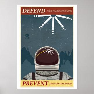 Défendez vos astronautes semblables