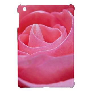 Déferler le rose de rose étui iPad mini