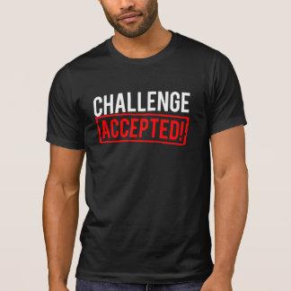 Défi admis t-shirt