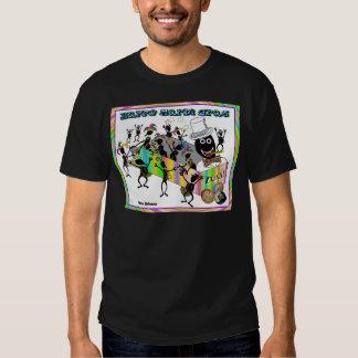 Défilé de zoulou au mardi gras t shirt