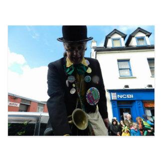 Défilé du jour de St Patrick Ennis - en Irlande Carte Postale