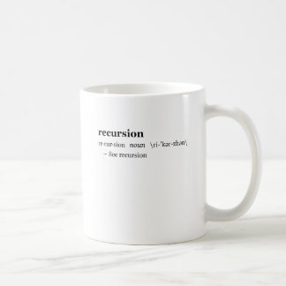 Definitie van Terugkeer Koffiemok