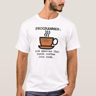 Définition d'informaticien - T-shirt blanc