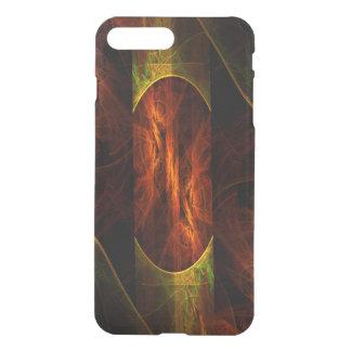 Déflecteur mystique d'art abstrait de jungle coque iPhone 7 plus
