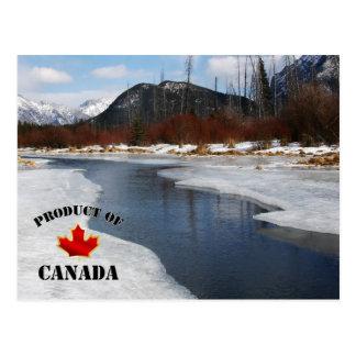 Dégel de ressort dans Banff Carte Postale