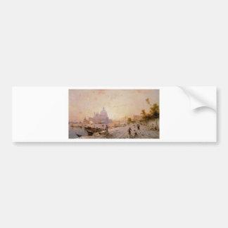 Degli Schiavoni, Venise de Riva par Franz Richard Autocollant De Voiture