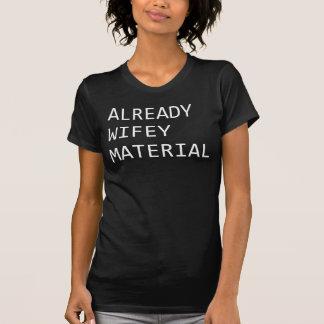 Déjà T-shirt matériel Tumblr de Wifey