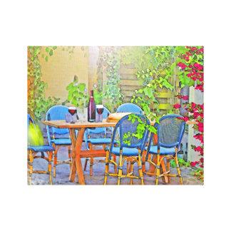 Déjeuner en Provence (les sud de la France) Toile