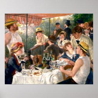 Déjeuner français de Renoir à la partie de