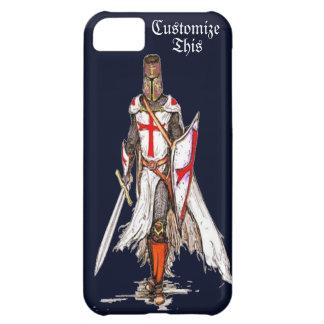 dekking van het de telefoonhoesje van de ridder de iPhone 5C hoesje