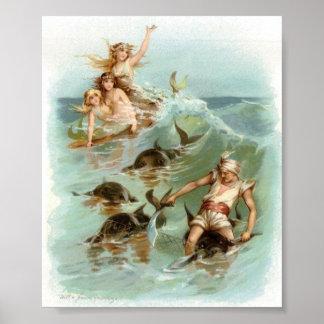 Délivrance de dauphin d'acclamation de sirènes,
