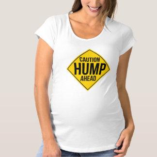 Démasqué : Chemise de maternité de bosse de T-Shirt De Maternité