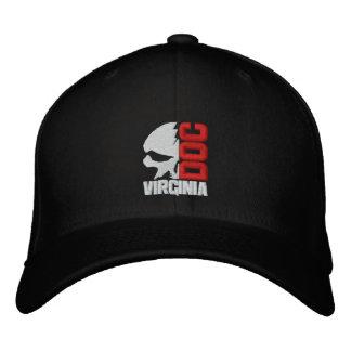 Demi de casquette de baseball de coutume de crâne