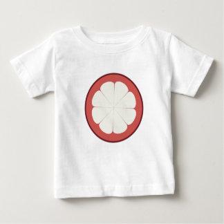 demi de conception de fruit t-shirt pour bébé