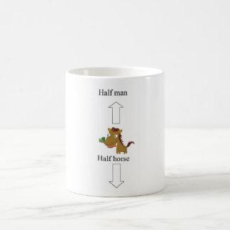 demi de homme-cheval mug